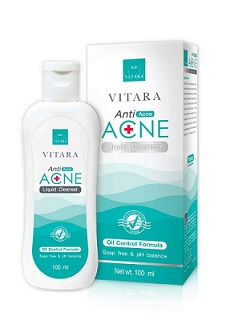 Vitara Anti Acne Liquid Cleanser
